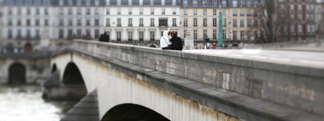 Ballade dans Paris en amoureux